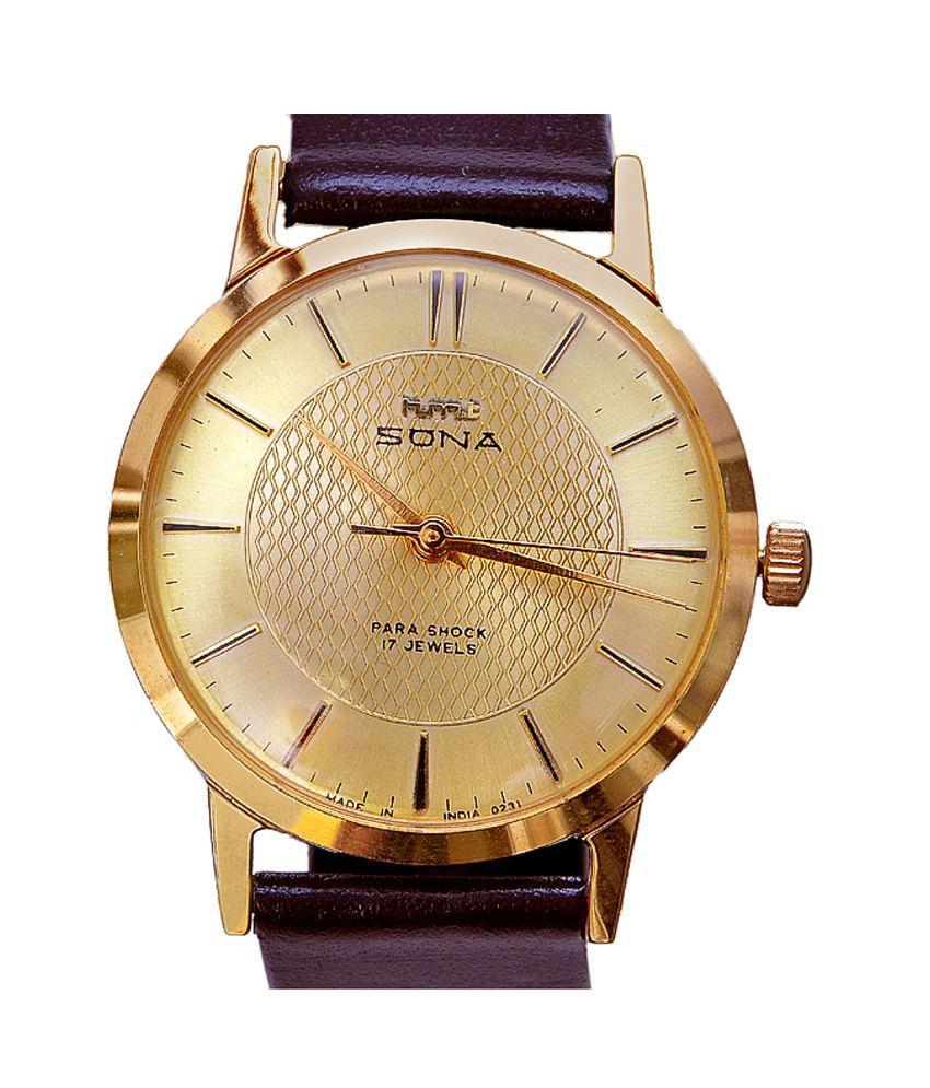 watches titan id buy gold at sona for analog product watch women champagne dial online sonata