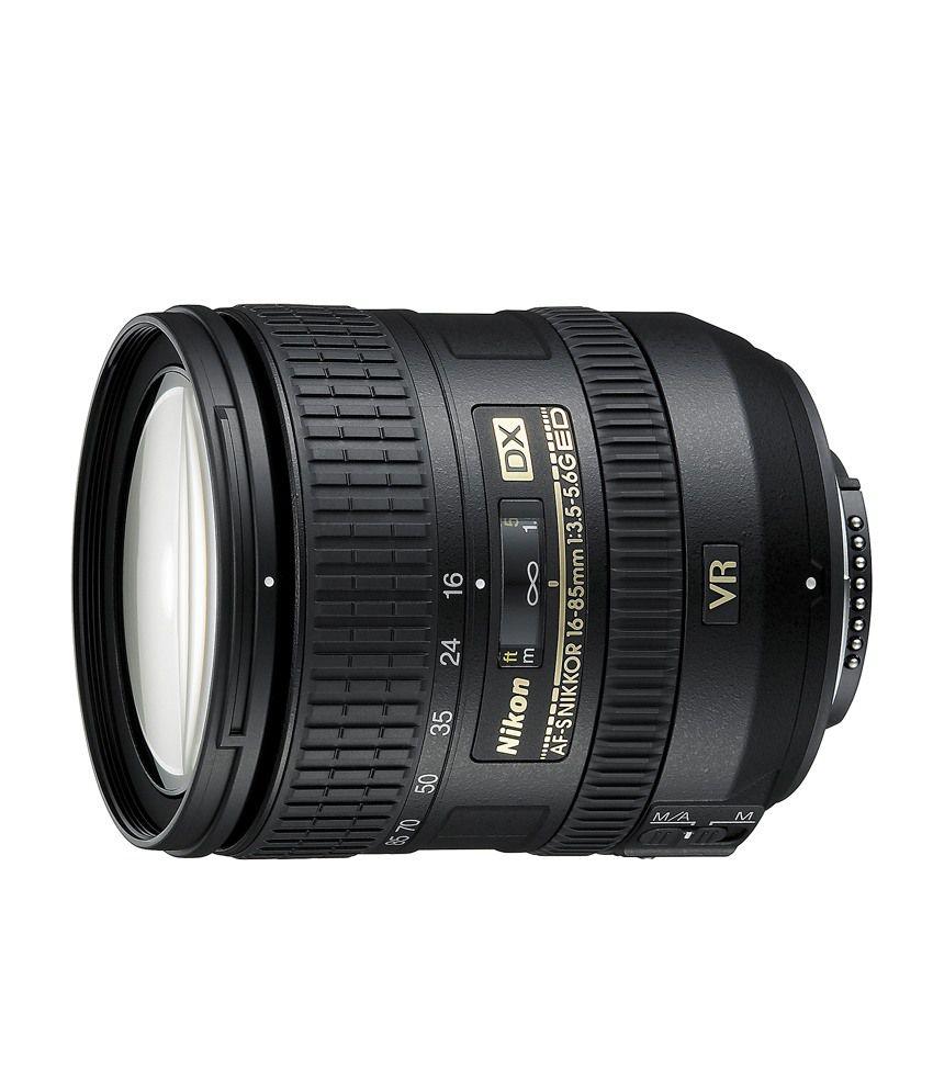 Nikon 16-85 mm f/3.5-5.6 ED VR  AF-S DX Nikkor Lens (DX Format)