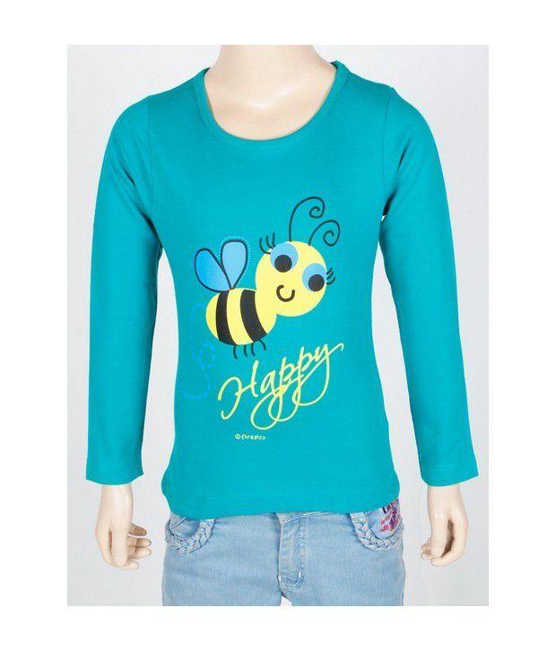 Threadz Sweatshirt For Infant Girls