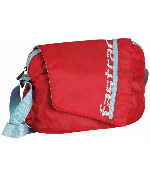 Fastrack A0501NRD01 Red Cross Body Sling Bag