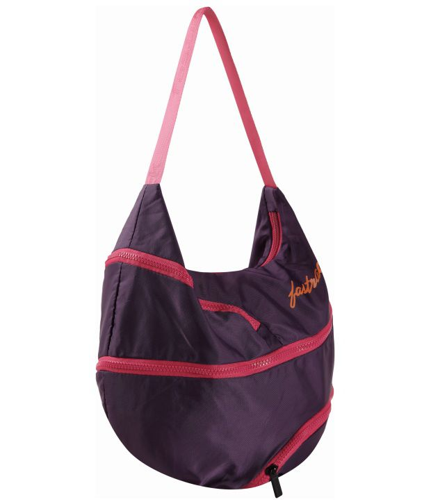Fastrack A0503NPR01 Purple Shoulder Bag
