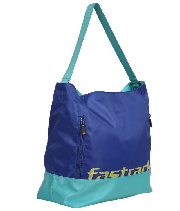 Fastrack A0504NBL01 Blue Shoulder Bag
