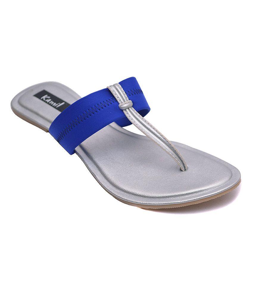 Kamil Blue Flat
