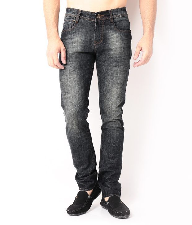 DesignRoadies Black Slim  Jeans