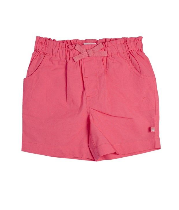 FS Mini Klub Pink Woven Shorts For Kids