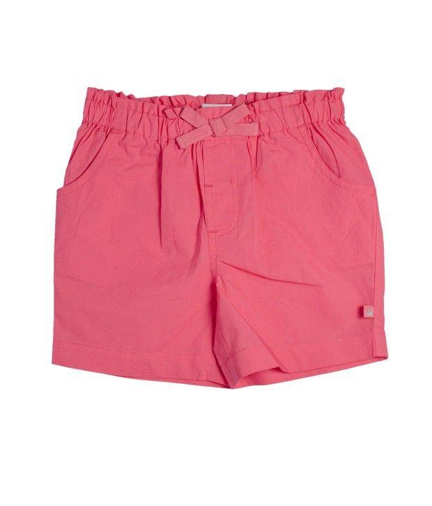 FS Mini Klub Pink Woven Shorts For Kids