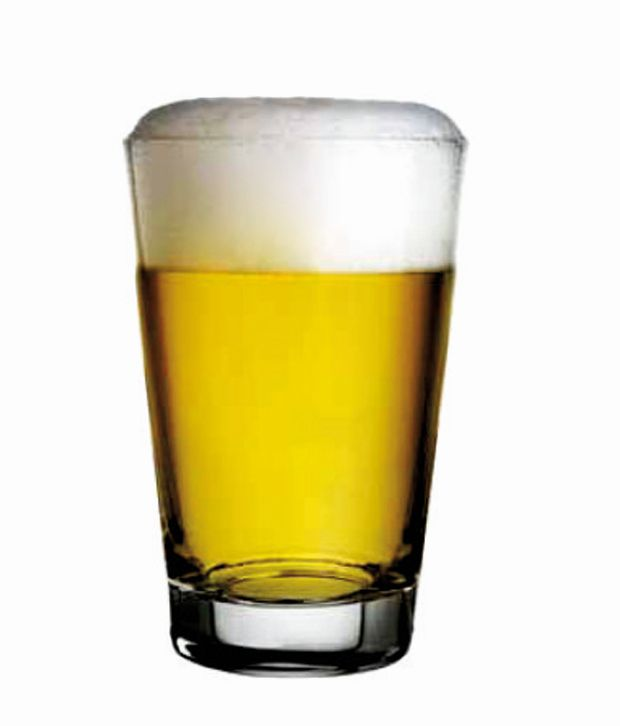 f6b6501454 Nadir Glass 350ML Beer Glasses  Buy Online at Best Price in India - Snapdeal