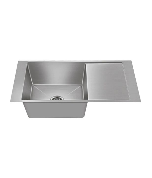 nirali kitchen sink single bowl maestro small satin - Nirali Kitchen Sinks