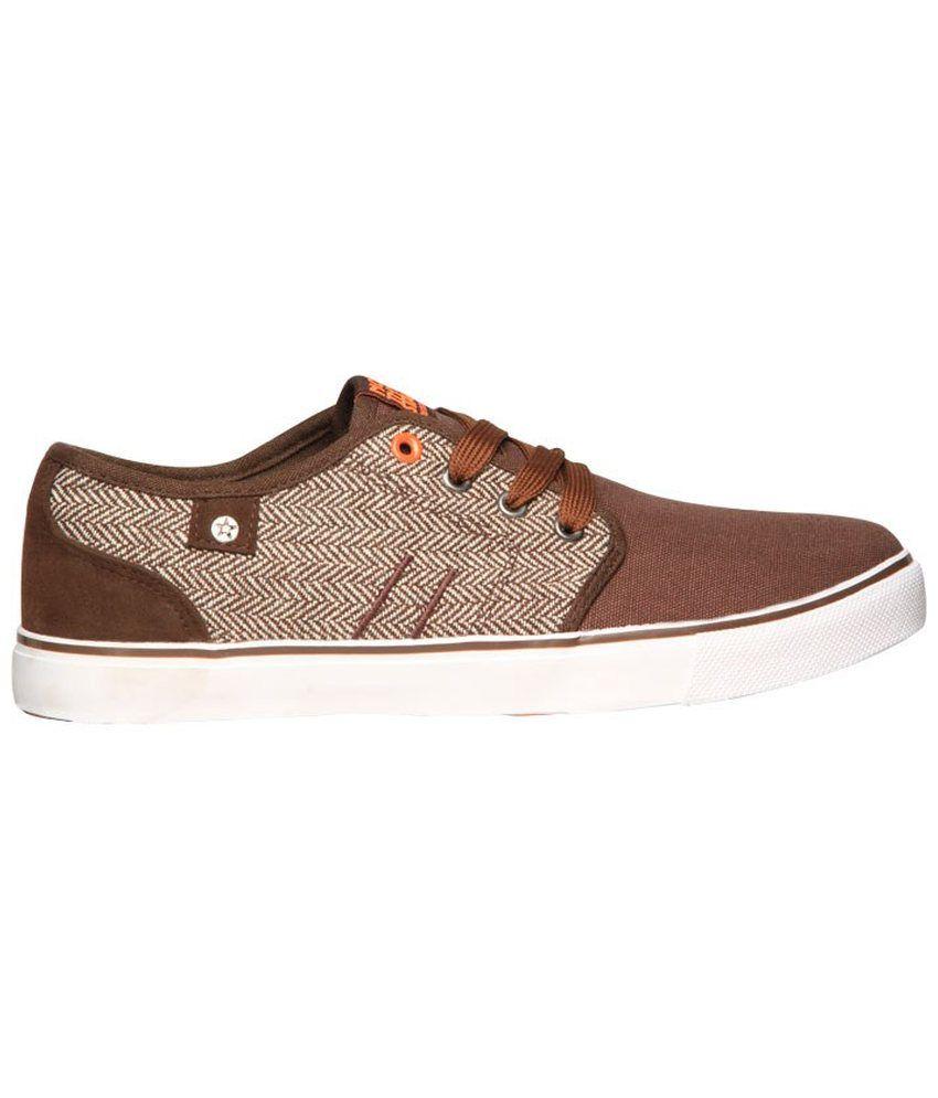 b327592ba6bcd7 North Star Brown Canvas Shoes - Buy North Star Brown Canvas Shoes ...