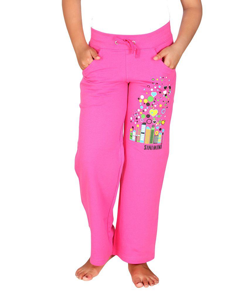 Sini Mini Girls Knitted Trendy Pant