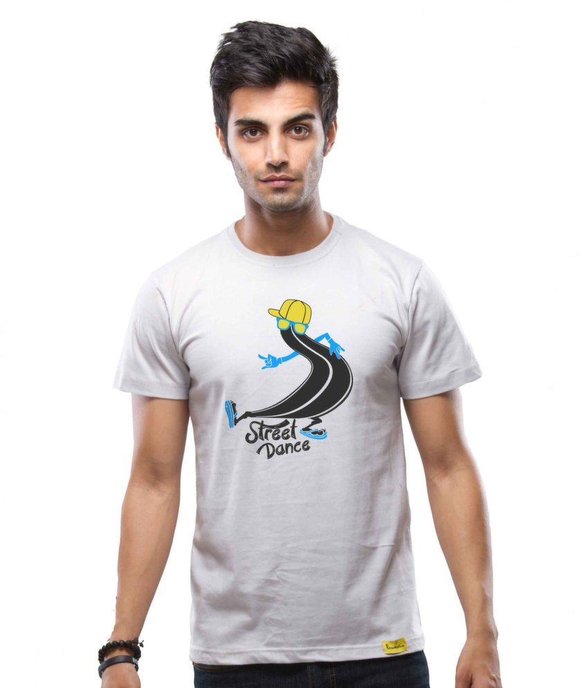 Street Dance Cotton Light Grey   T-Shirt
