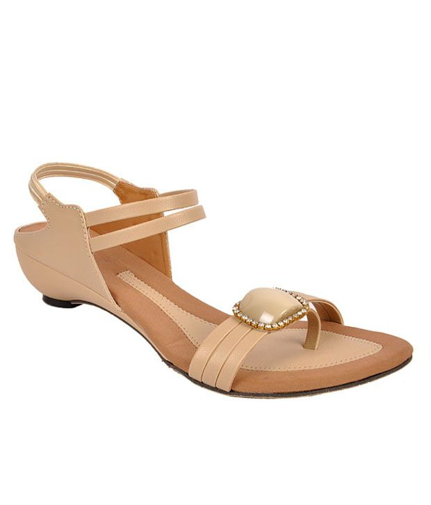 Jolly Jolla Beige Wedges