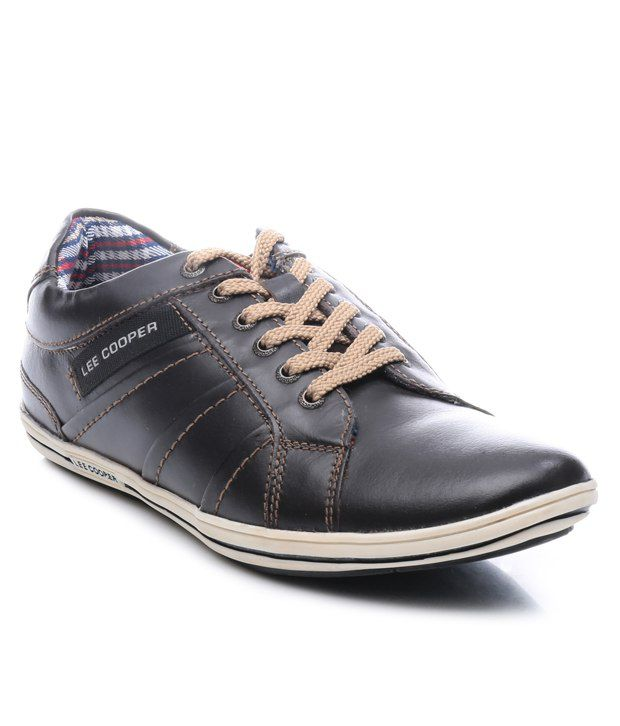 de736fed7b9 Lee Cooper Brown Sneaker Art LC9634BRN - Buy Lee Cooper Brown Sneaker Art  LC9634BRN Online at Best Prices in India on Snapdeal