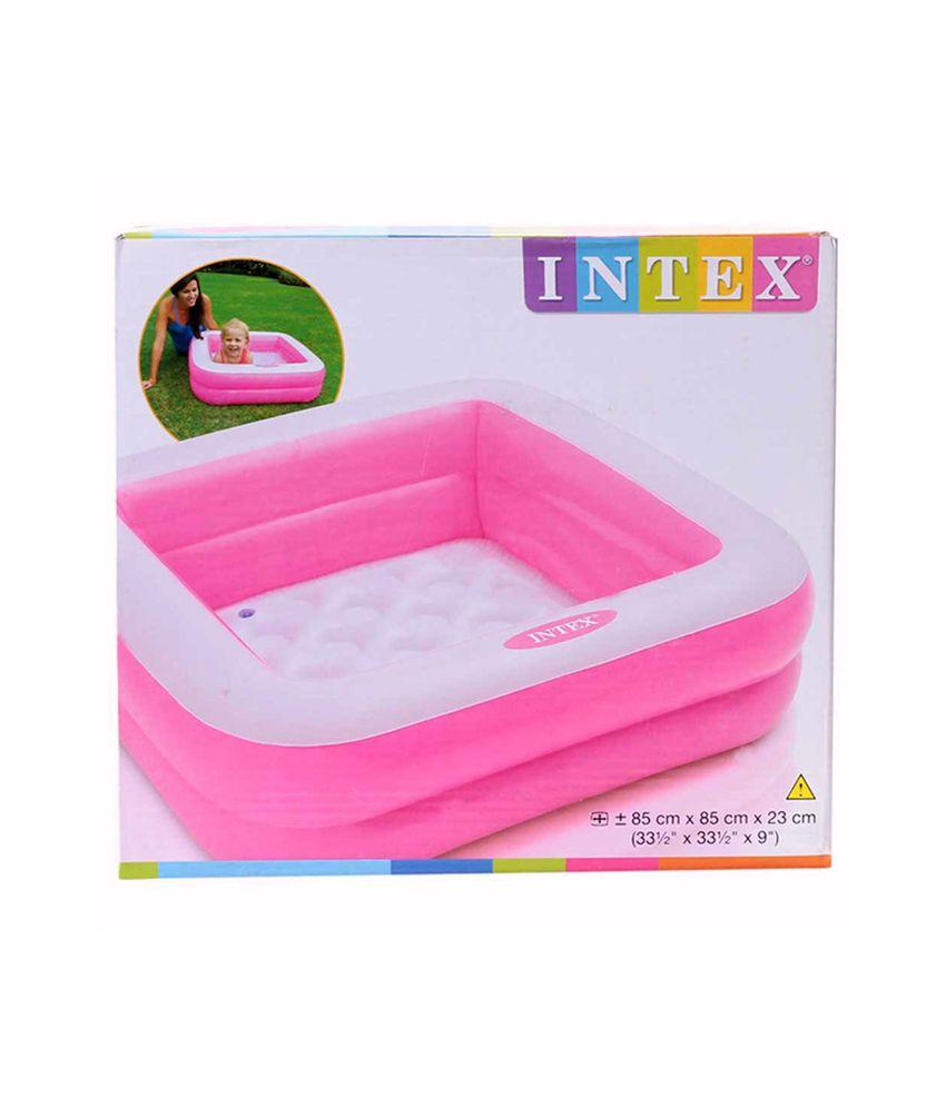 Intex Play Box Pool Pink Pool Accessories
