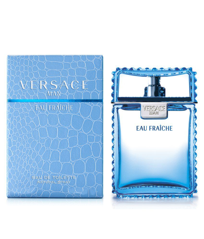 239ea74d23 Versace Fragrances Eau Fraiche Men Edt 100Ml: Buy Online at Best Prices in  India - Snapdeal