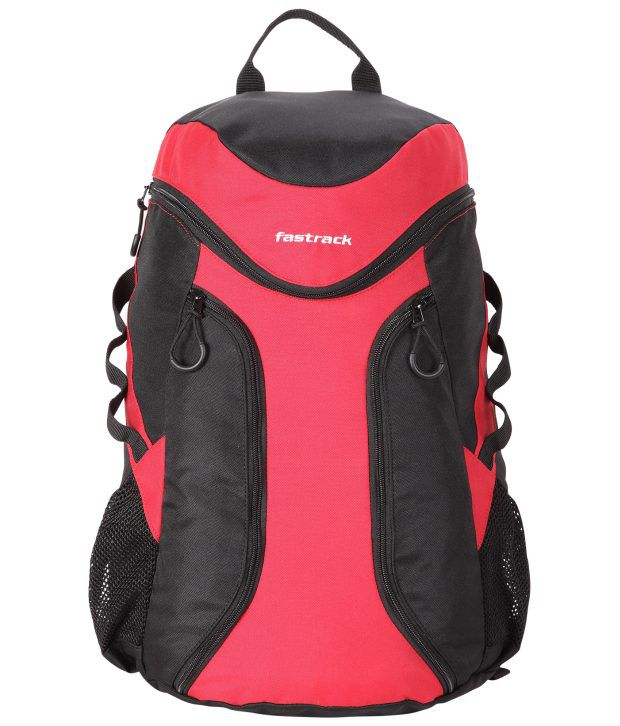 Fastrack Black & Red A0512NBK01 Backpacks Art A0512NBK01 ...