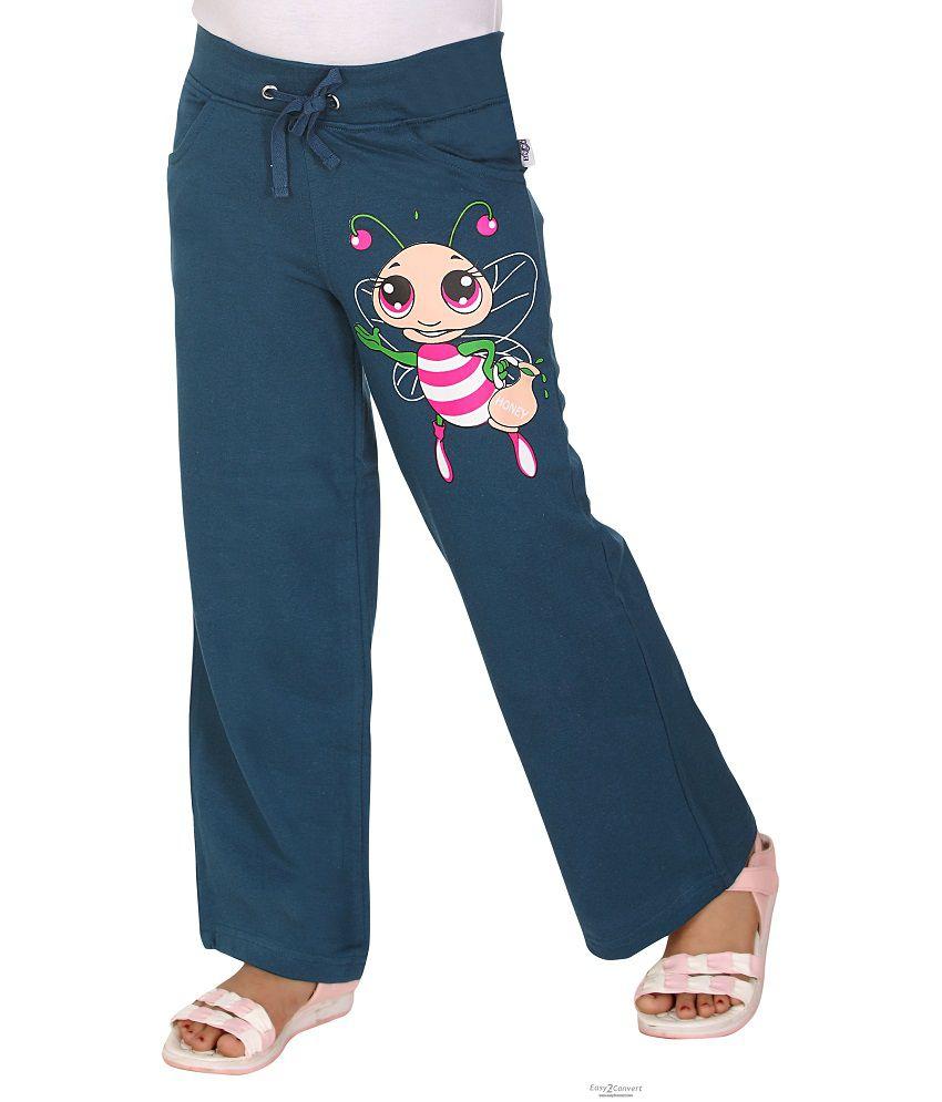 Sinimini Girls Knitted Fashionable Pant