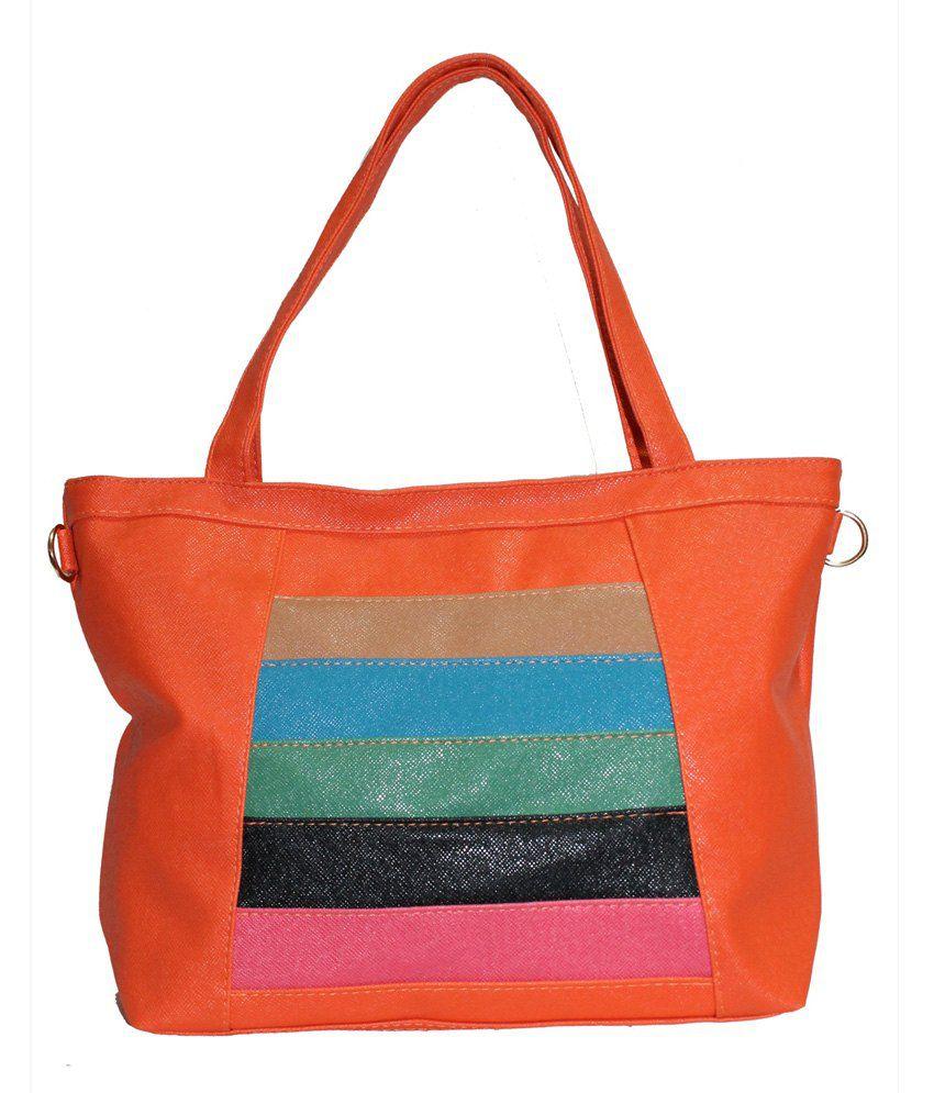 Moda Desire SP00240ORANGE Orange Handbags