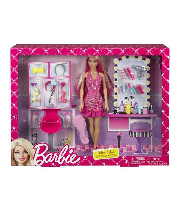 Barbie Salon Stylist Fashion Dolls Buy Barbie Salon Stylist Fashion Dolls Online At Low Price