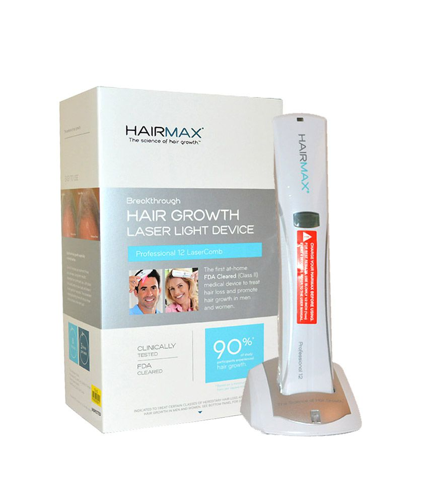 HairMax LaserComb Professional 12 Cordless Model