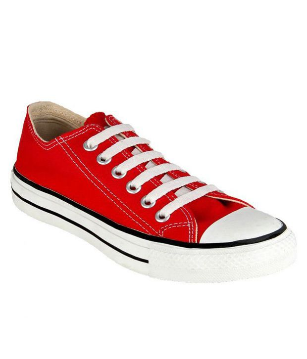 0bc877f8feea Converse Red Canvas Shoes - Buy Converse Red Canvas Shoes Online at Best  Prices in India on Snapdeal