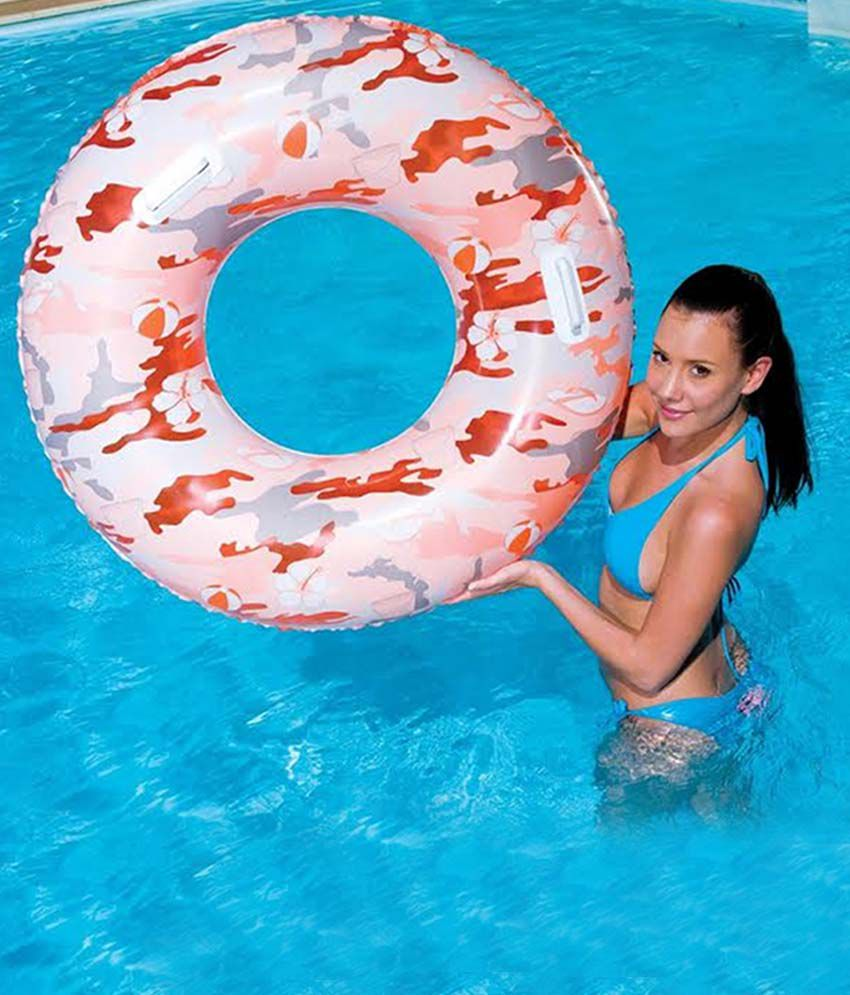 Attrayant Inflatable Swimming Tube  20 Inches