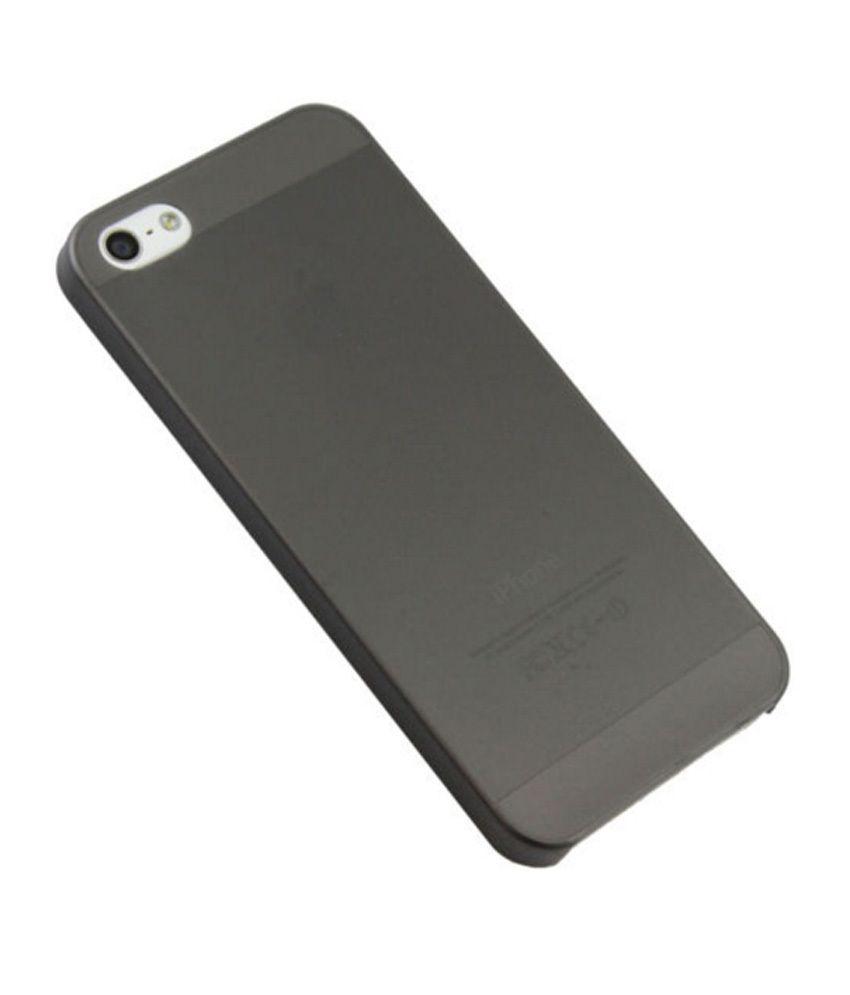 acac6b272b68 ... TCA iPhone 5 5S TPU Case Ultra Thin 0.3mm Soft Case Cover - Black ...
