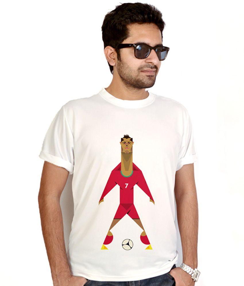 Bluegape Football Player T-Shirt