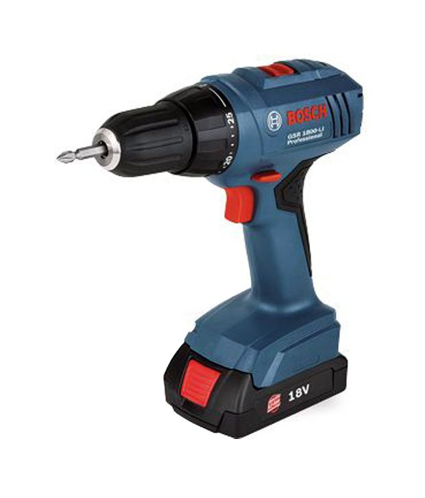 Bosch GSR 1800-LI Professional Cordless Drill/Driver