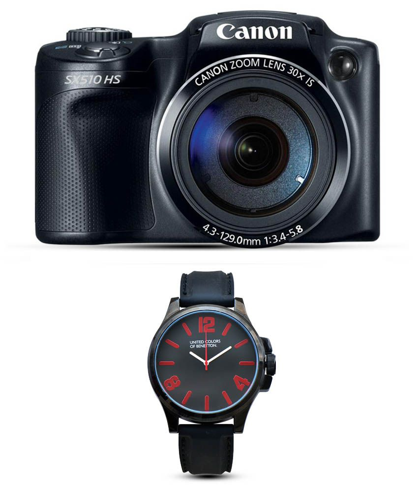 Canon Powershot SX510HS 121MP Combo With UCB Wtach Price