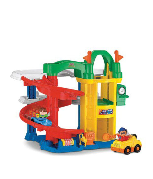Fisher Price Little People Racing Ramps Garage Track Set Imported Toys Buy Fisher Price Little People Racing Ramps Garage Track Set Imported Toys Online At Low Price Snapdeal