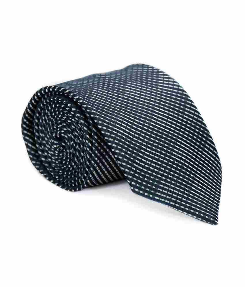 Vermello Black Micro Fiber Formal Broad Ties