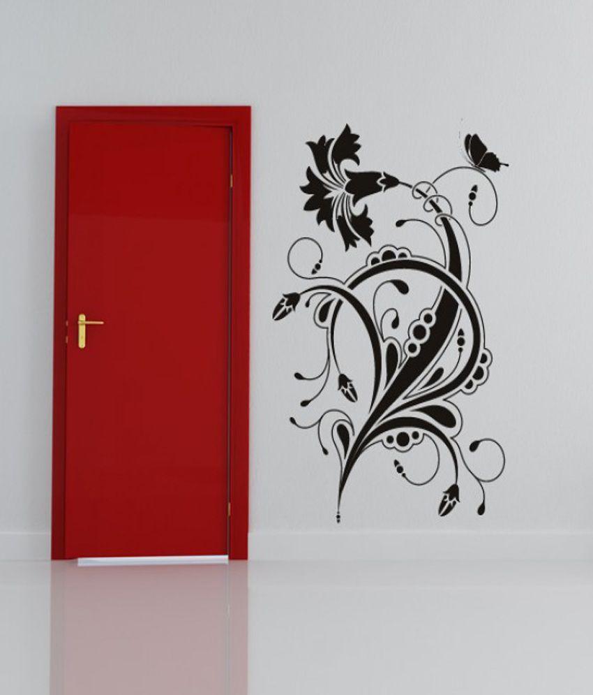 DeStudio Floral Design Wall Art Sticker wall One Wall