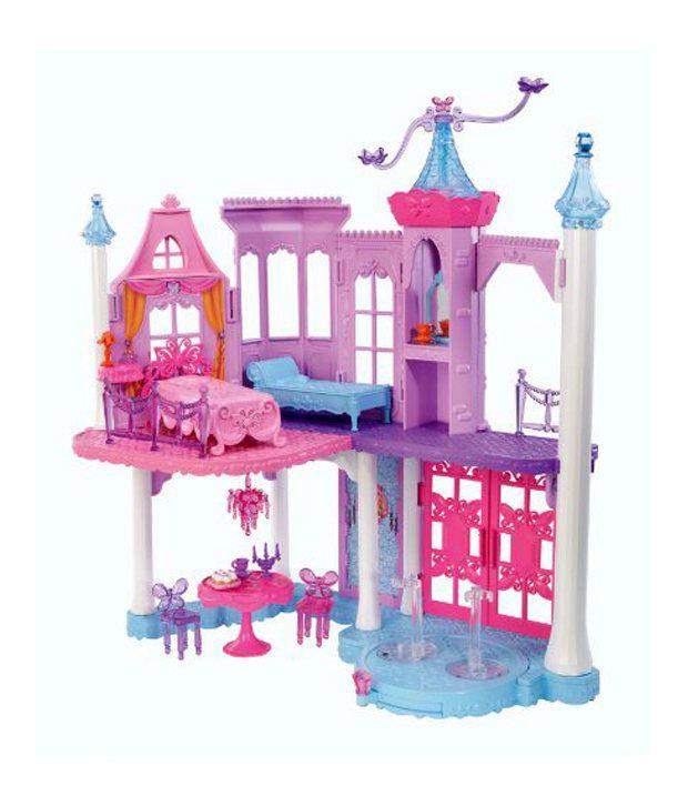 Mattel Barbie Mariposa And The Fairy Princess Castle