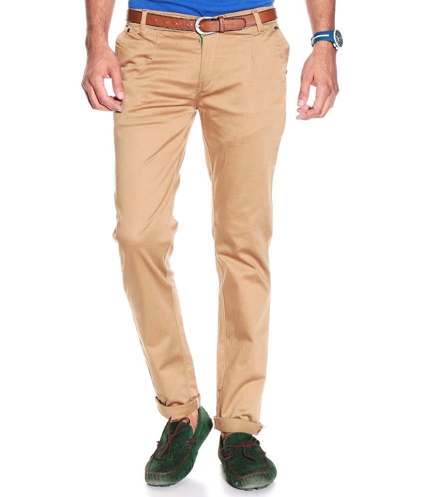 VAM Jeans Khaki Cotton Chinos