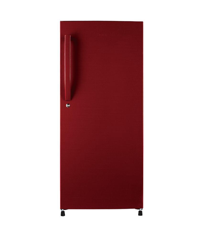 Haier 220 Ltr 5 Star HRD-2405BR Single Door Refrigerato - Red Brushline