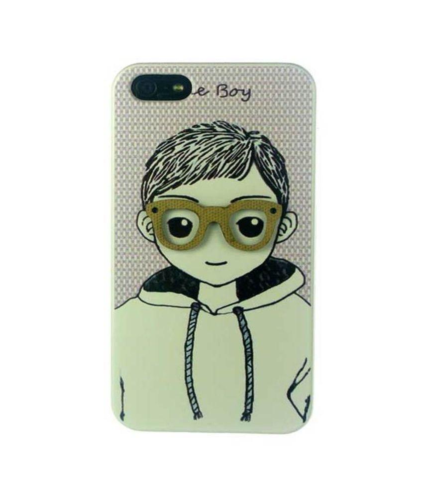new arrival 1e1b7 1b5b5 ManRo Apple iPhone 5S 3D Boy Backcover Back Case Cover Panel Holder