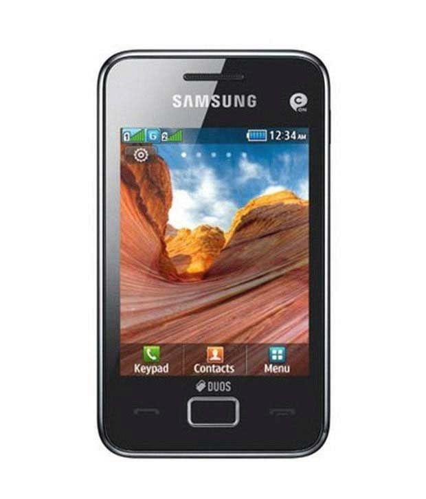 Samsung Star 3 S-5222- Modern Black