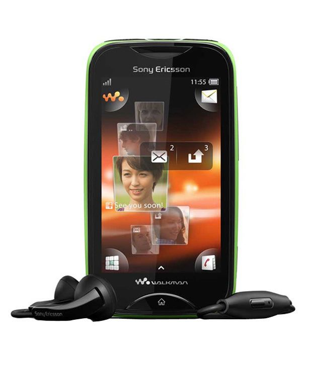 Sony Ericsson Mix Walkman Wt13I (Green-Black)