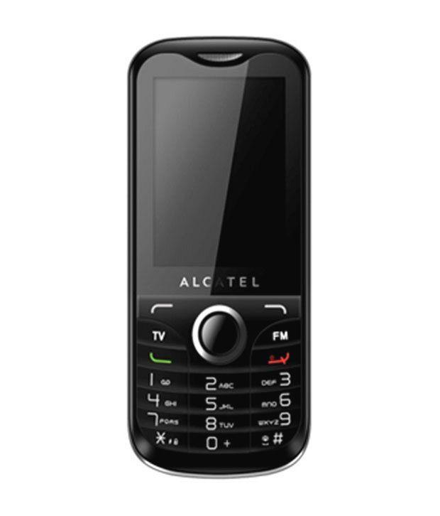 Alcatel Dual SIM Mobile Phone- OT 632D (Black)