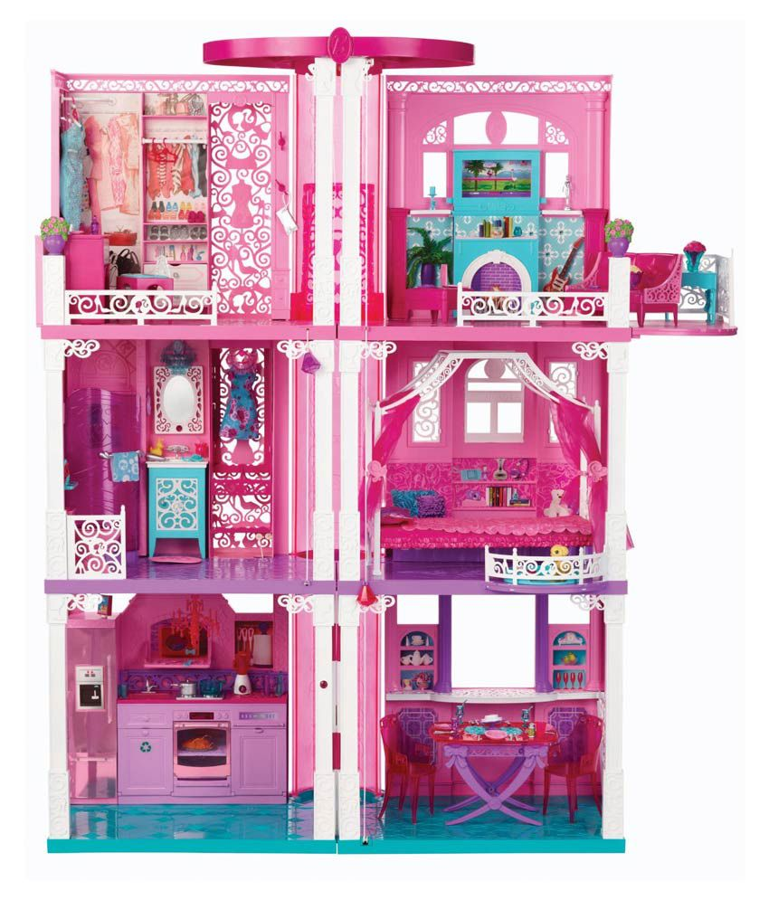 Barbie Dream Doll House ...