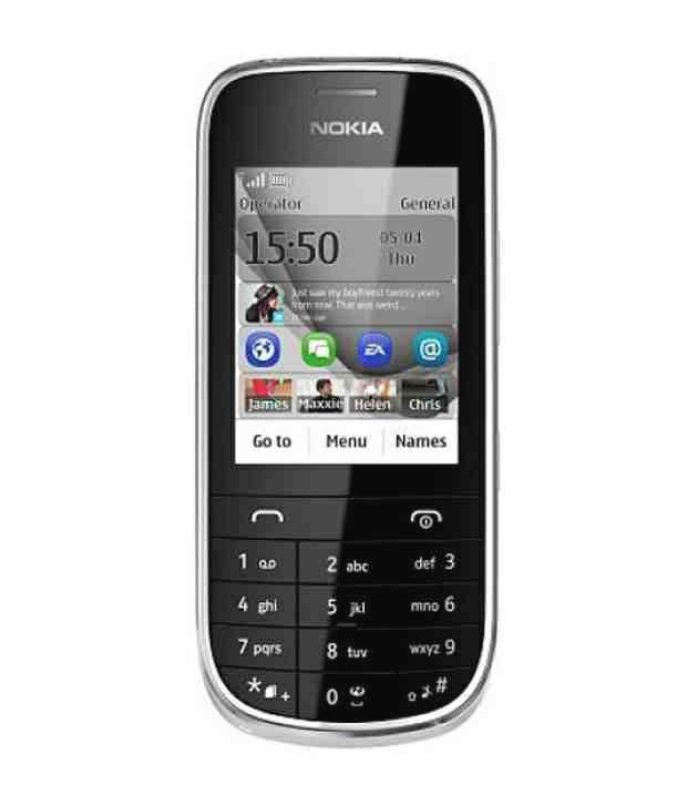 Nokia Asha 202 (Silver White)