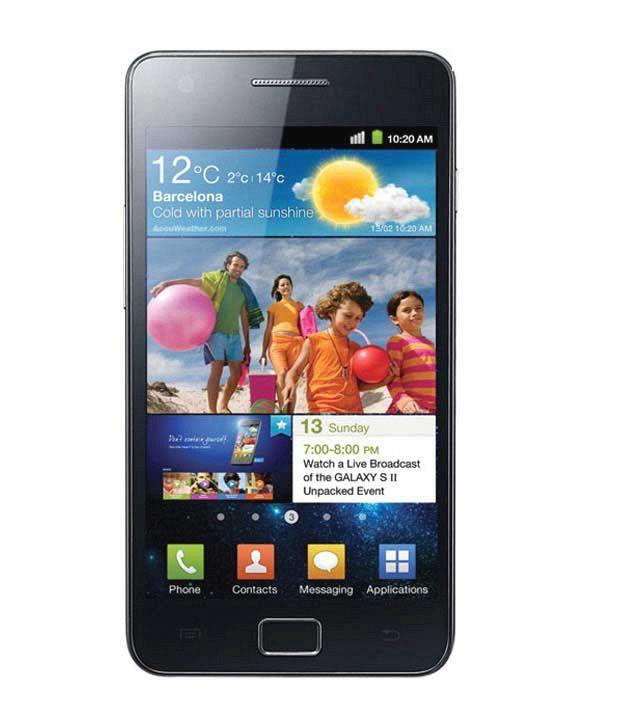 Samsung Galaxy S2-I 9100 Black