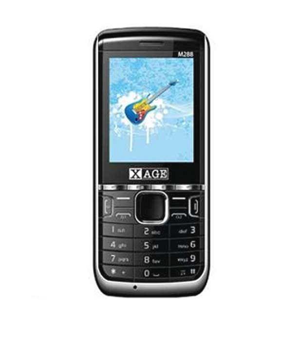 Xage M288 Zeal Black-Silver (Tripple SIM(GSM+GSM+CDMA))