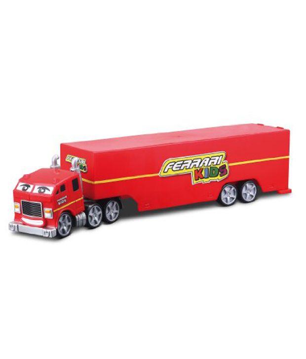 Ferrari Truck: Bburago Ferrari Kids Car Delivery Diecast Playset