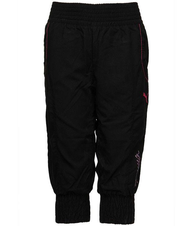 Puma Black Short For Girls