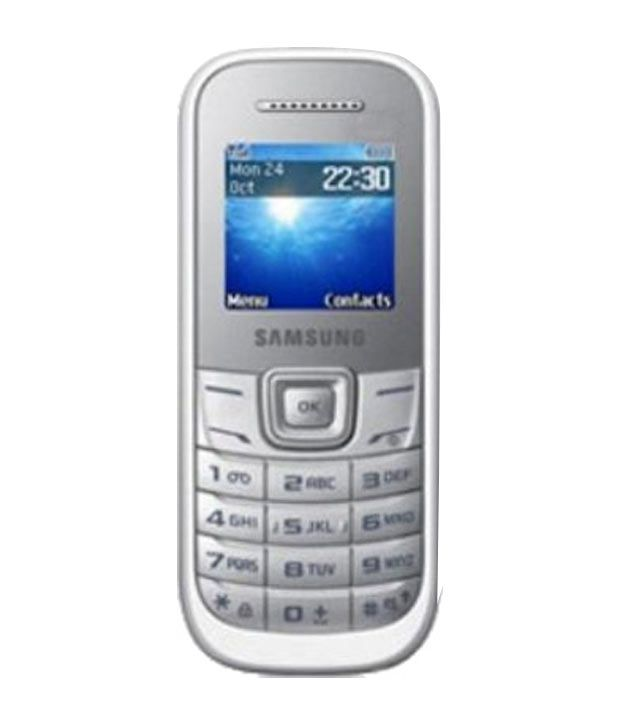 samsung guru e1200 white mobile phones online at low. Black Bedroom Furniture Sets. Home Design Ideas