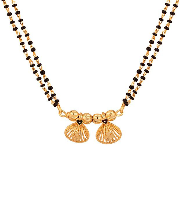 Voylla Golden Double Chain Wati Mangalsutra
