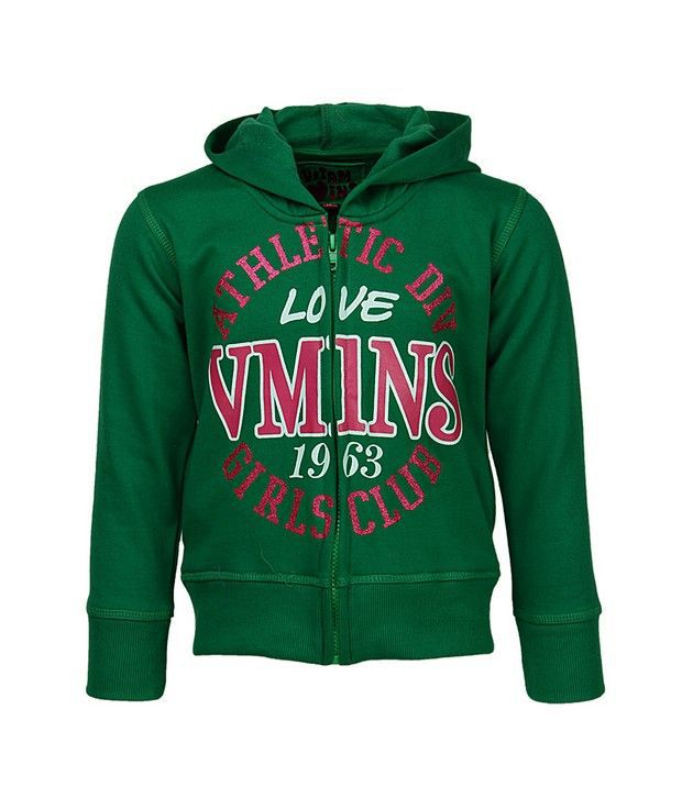 Vitamins Green Jackets & Blazer For Girls