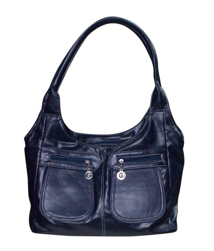 Kreative cb011black Black Shoulder Bags